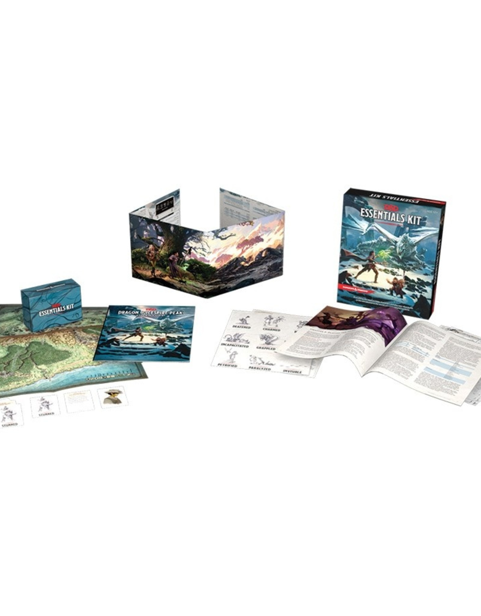 Dungeons & Dragons RPG D&D Essentials Kit