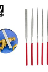 Vallejo Set of 5 Diamond Needle Files