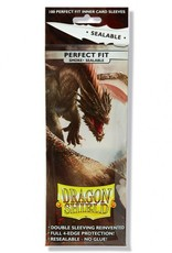 Dragon Shields Perfect Fit Sealable  Smoke (100)