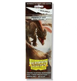 Dragon Shields Perfect Fit Sealable  Smoke (100)