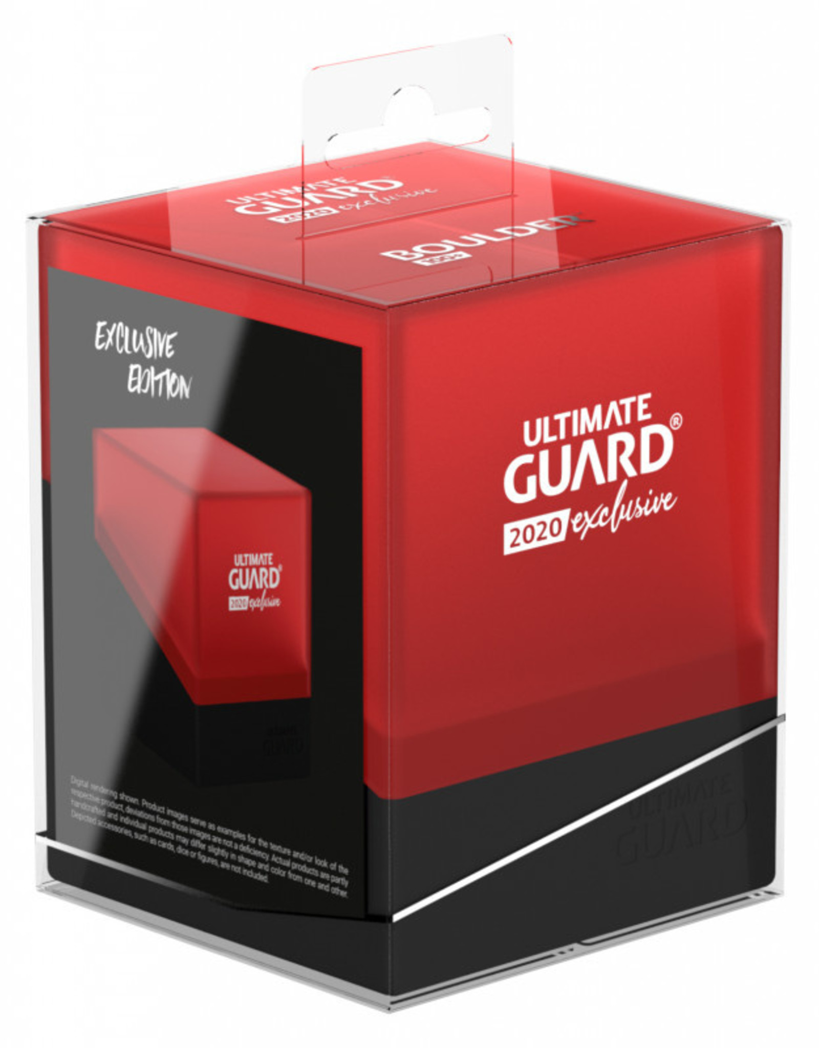 Ultimate Guard Boulder 100+ Black/Red 2020 Exclusive