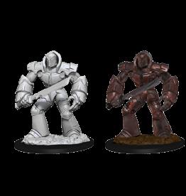 Wizkids D&D Mini: NM Primed: Iron Golem
