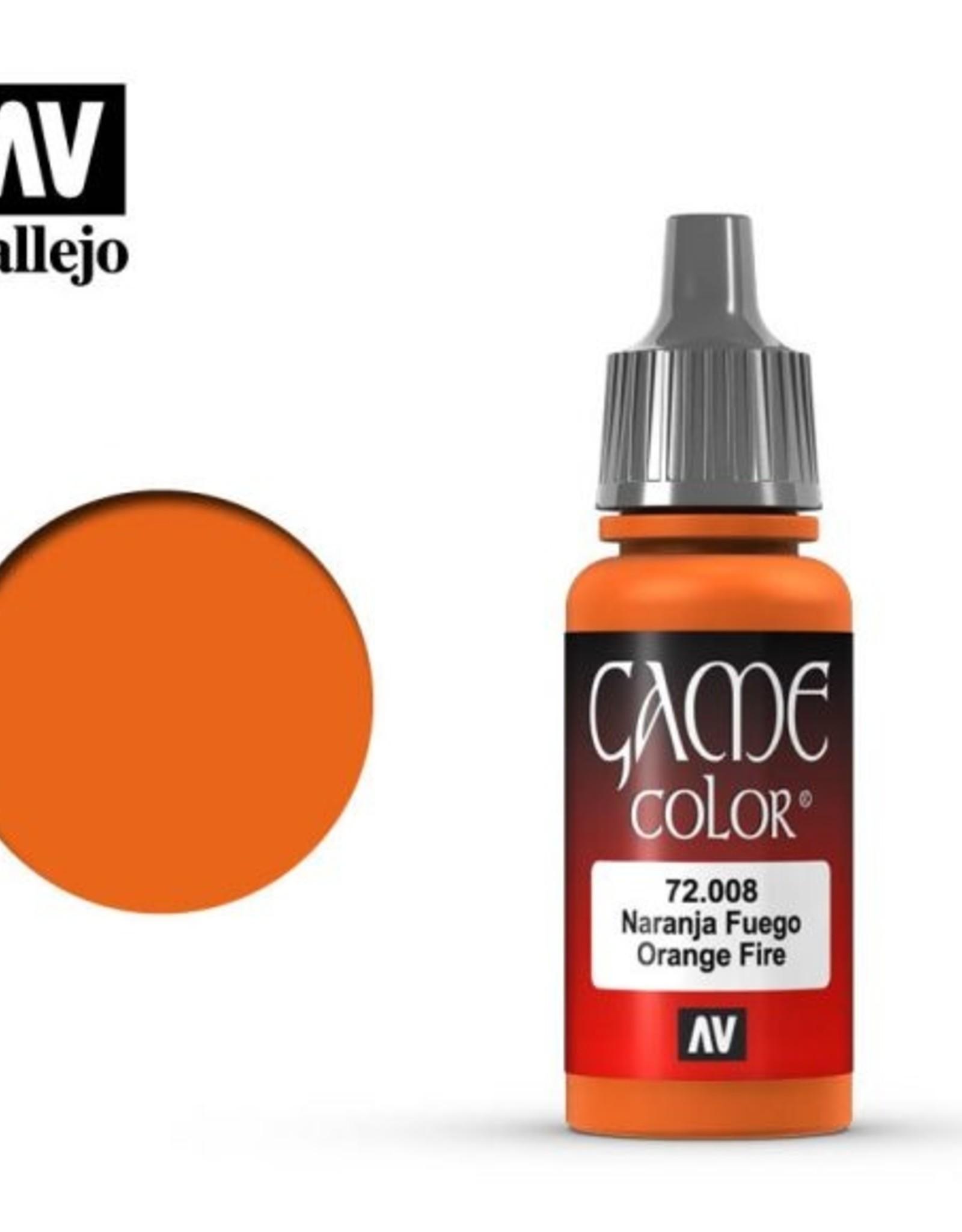 Vallejo 72.008 Orange Fire
