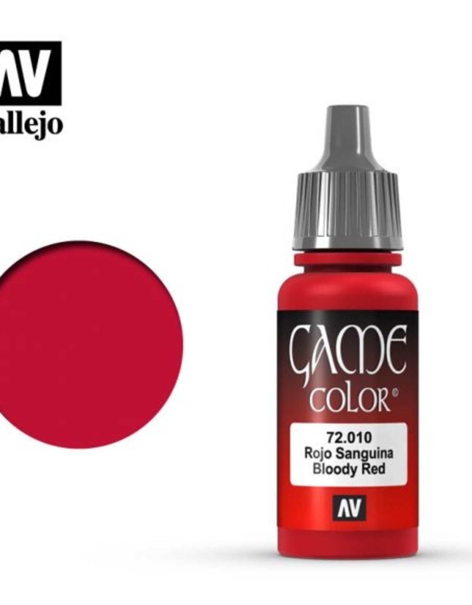 Vallejo 72.010 Bloody Red