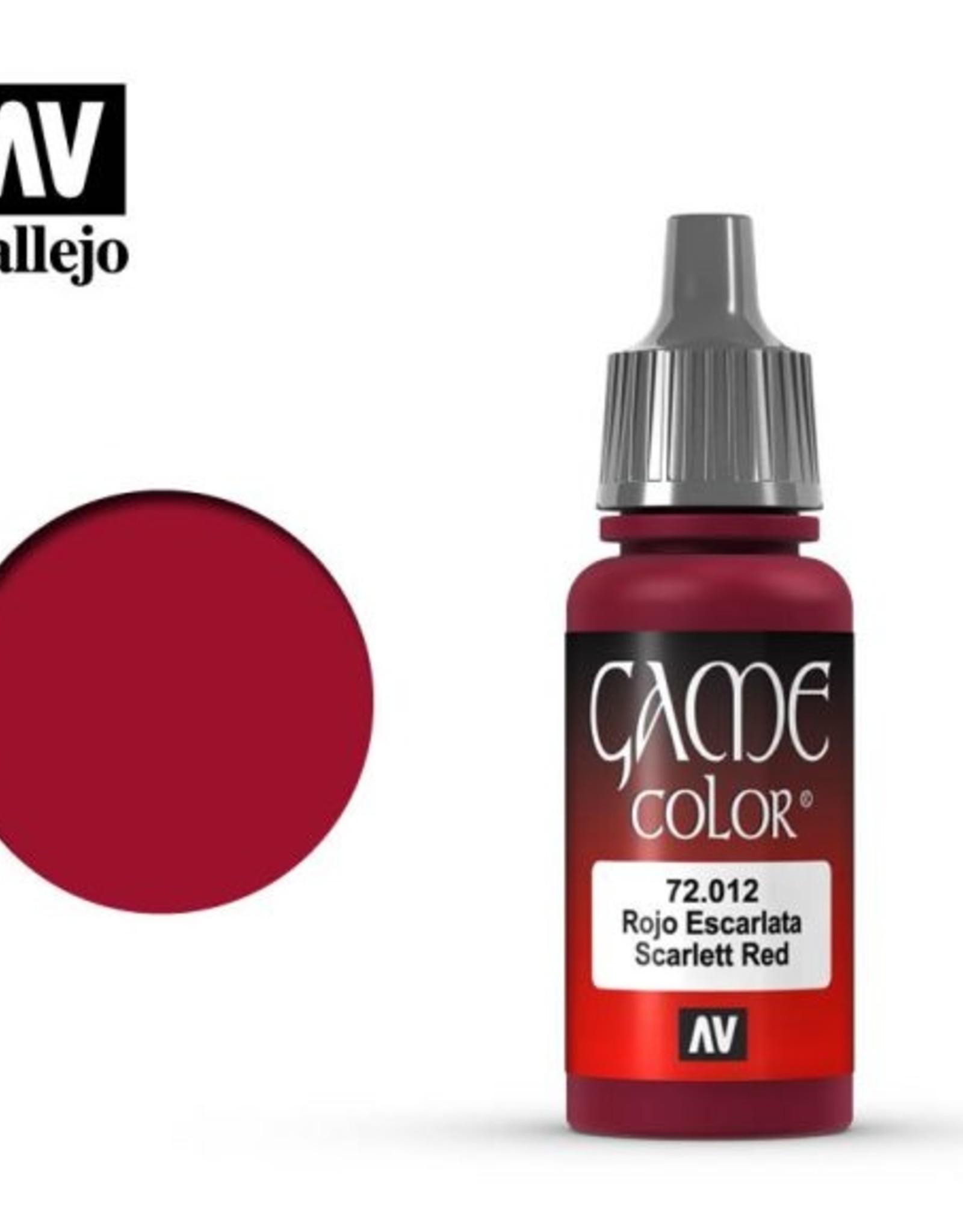 Vallejo 72.012 Scarlet Red