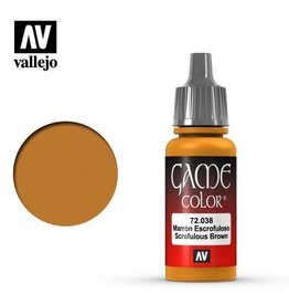 Vallejo 72.038 Scrofulous Brown