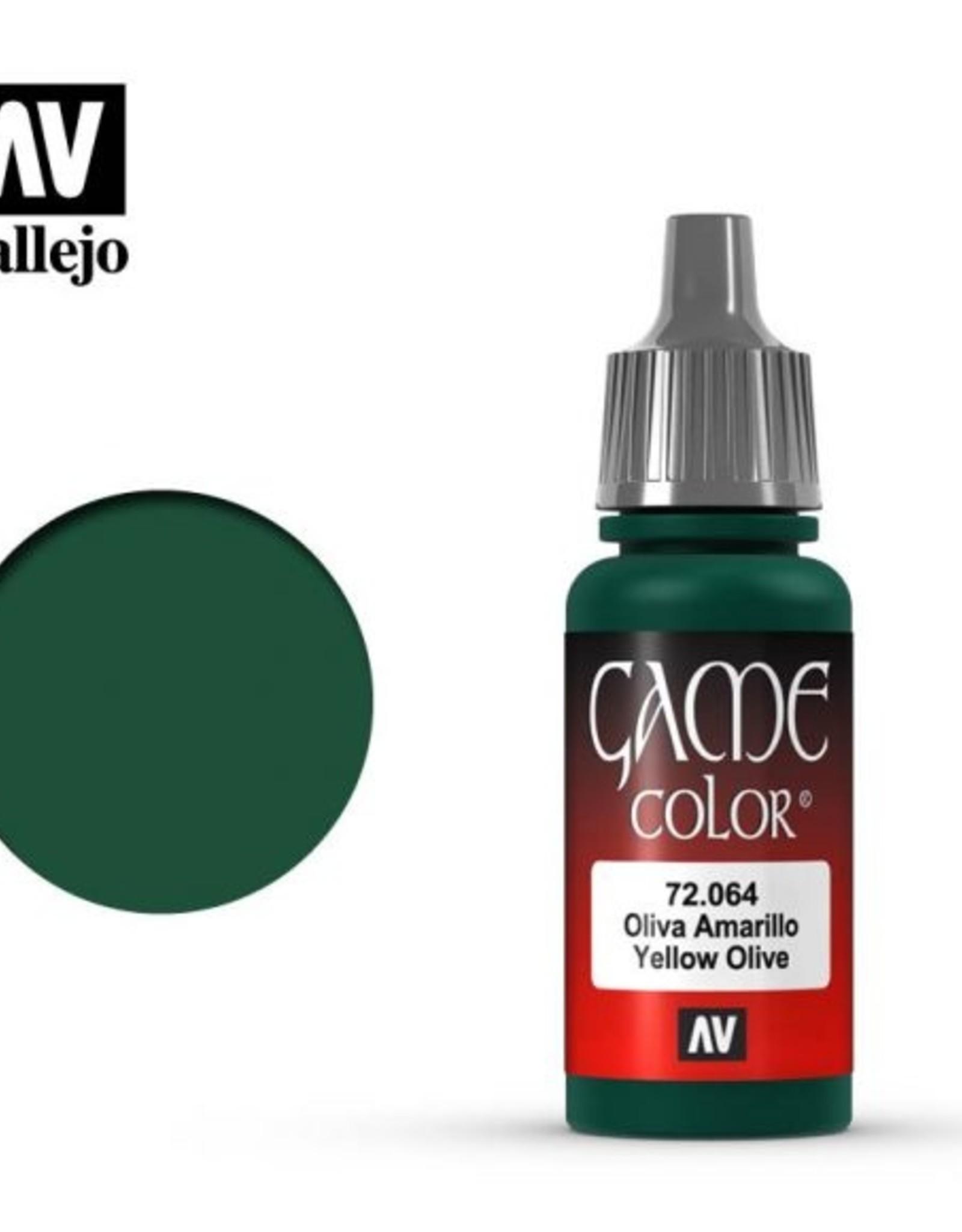 Vallejo 72.064 Yellow Olive