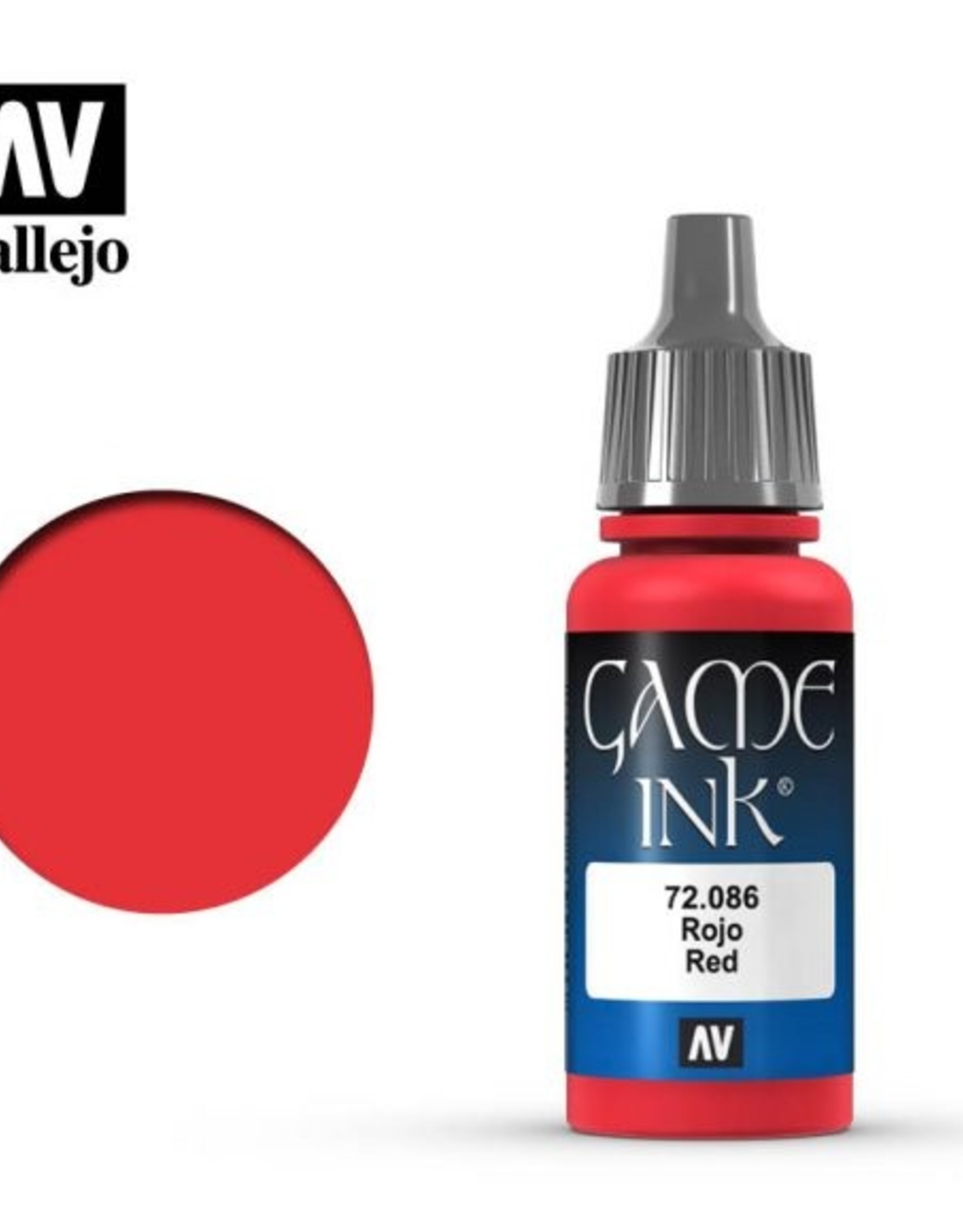 Vallejo 72.086 Red Ink