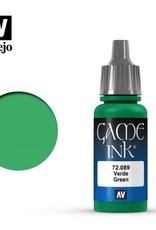 Vallejo 72.089 Green Ink