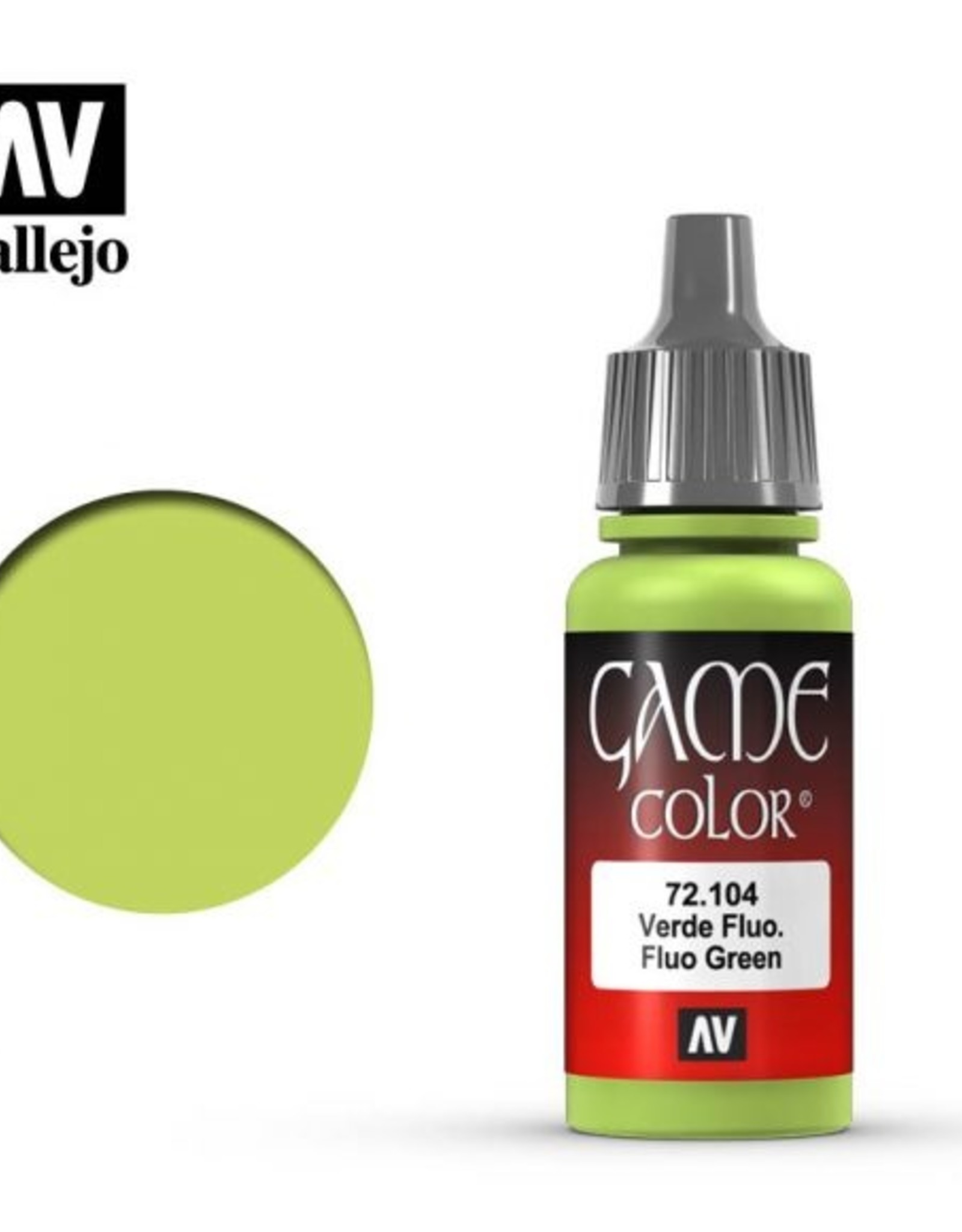 Vallejo 72.104 Fluorescent Green