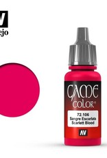Vallejo 72.106 Scarlet BloodGC: Scarlet Blood 17ML
