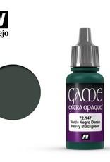 Vallejo 72.147 Heavy Black Green Extra Opaque