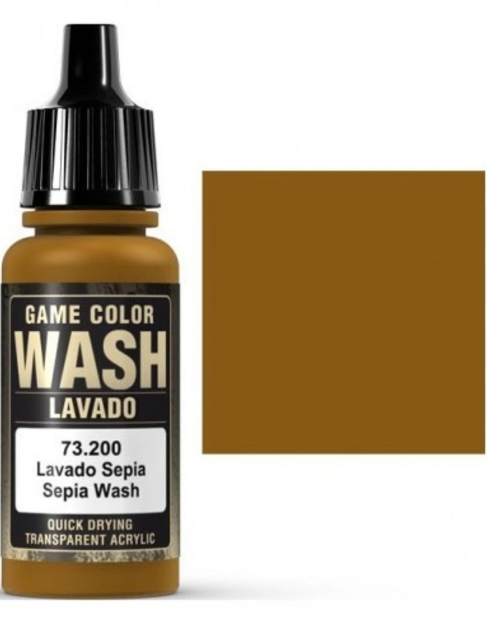 Vallejo 73.200 Sepia Wash