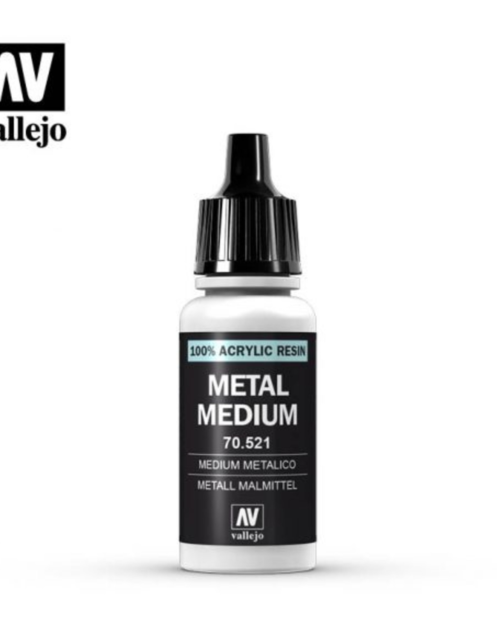 Vallejo Auxiliary Products:  70.521 Metal Medium