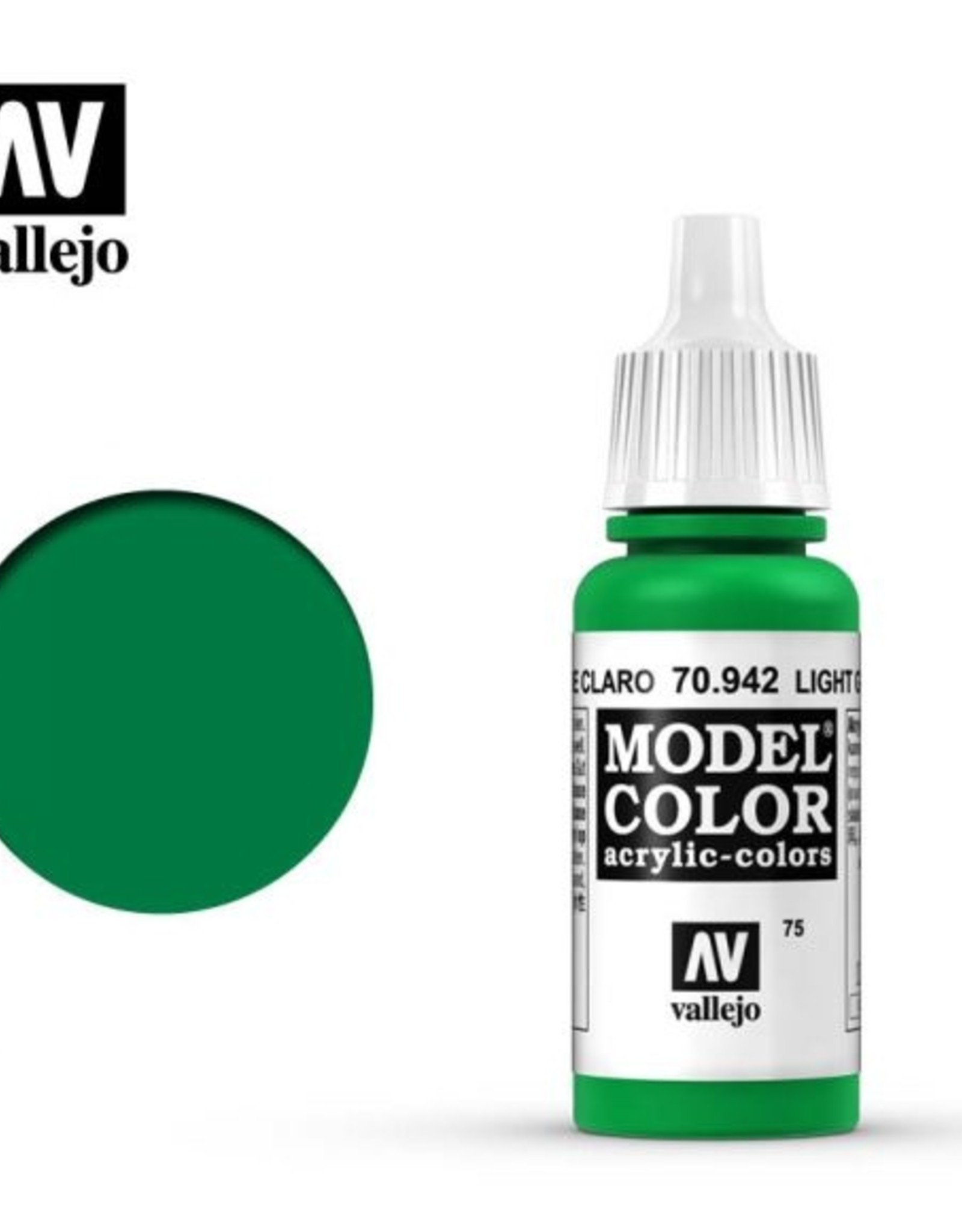 Vallejo Model Color: 70.942 Light Green
