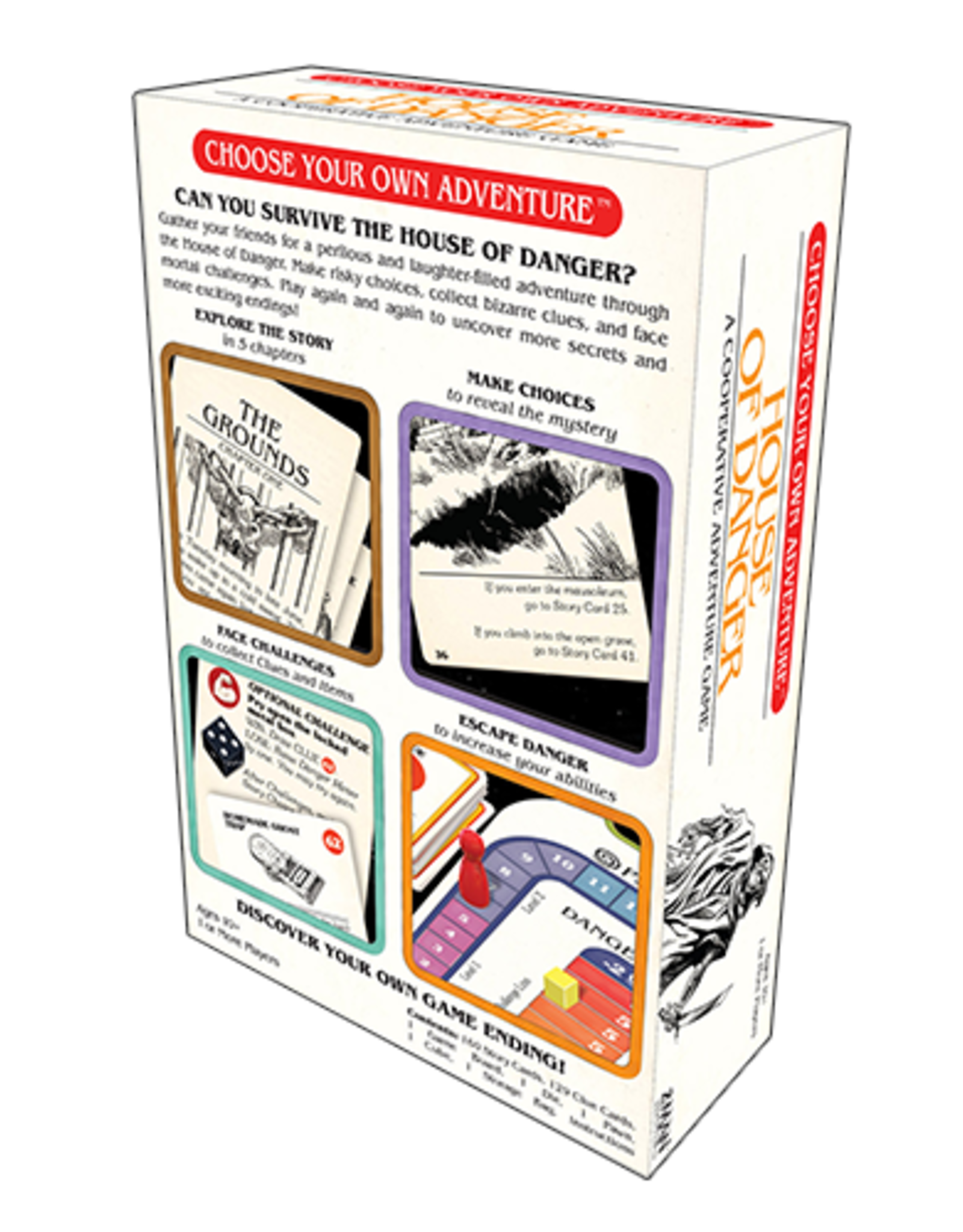 Z-Man Games Choose Your Own Adventure : House Of Danger