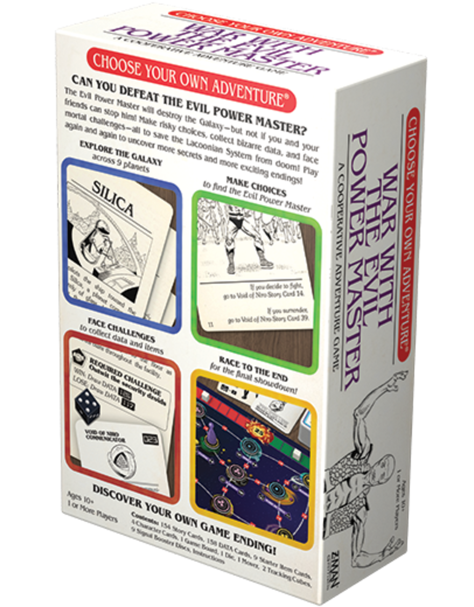 Z-Man Games Choose Your Own Adventure: War With The Evil Power Master