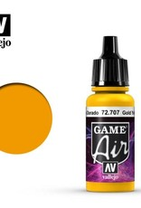 Vallejo Game Air:  72.707 Gold Yellow