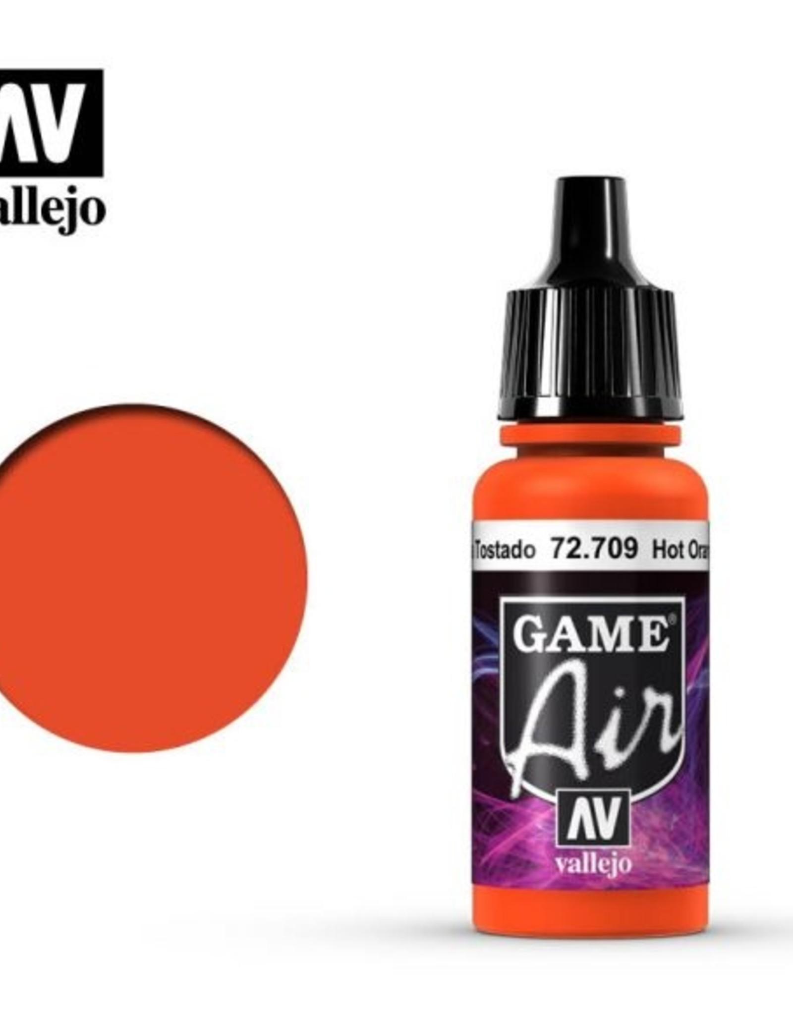 Vallejo Game Air:  72.709 Hot Orange