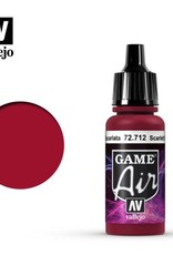 Vallejo Game Air:  72.712 Scarlet Red