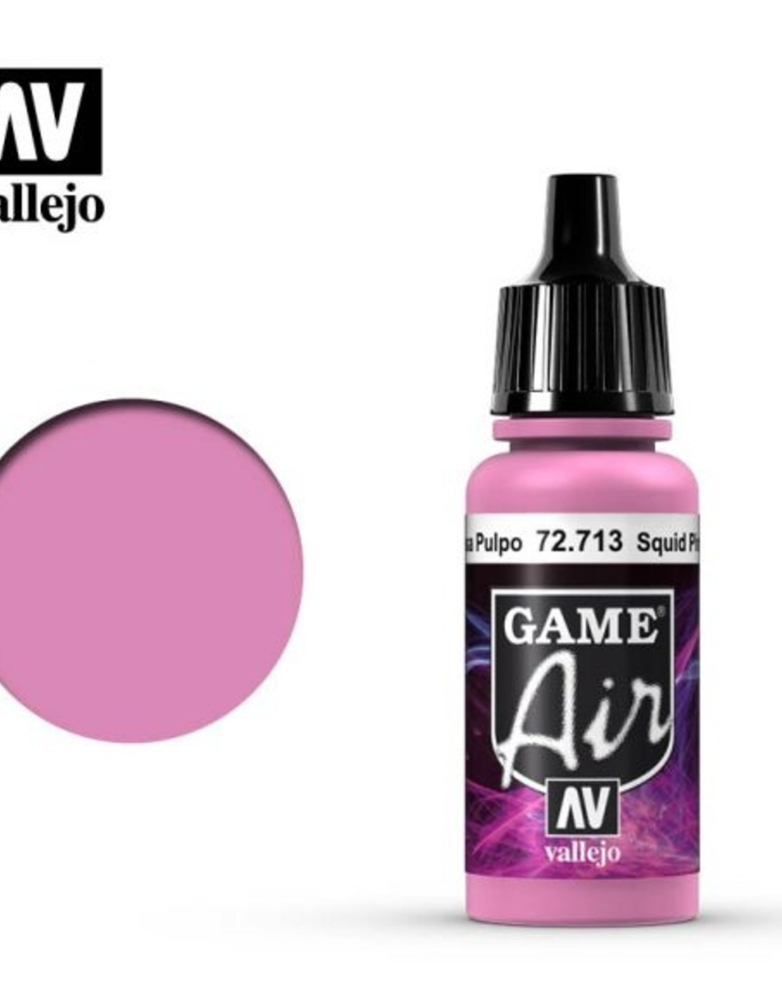Vallejo Game Air: 72.713 Squid Pink