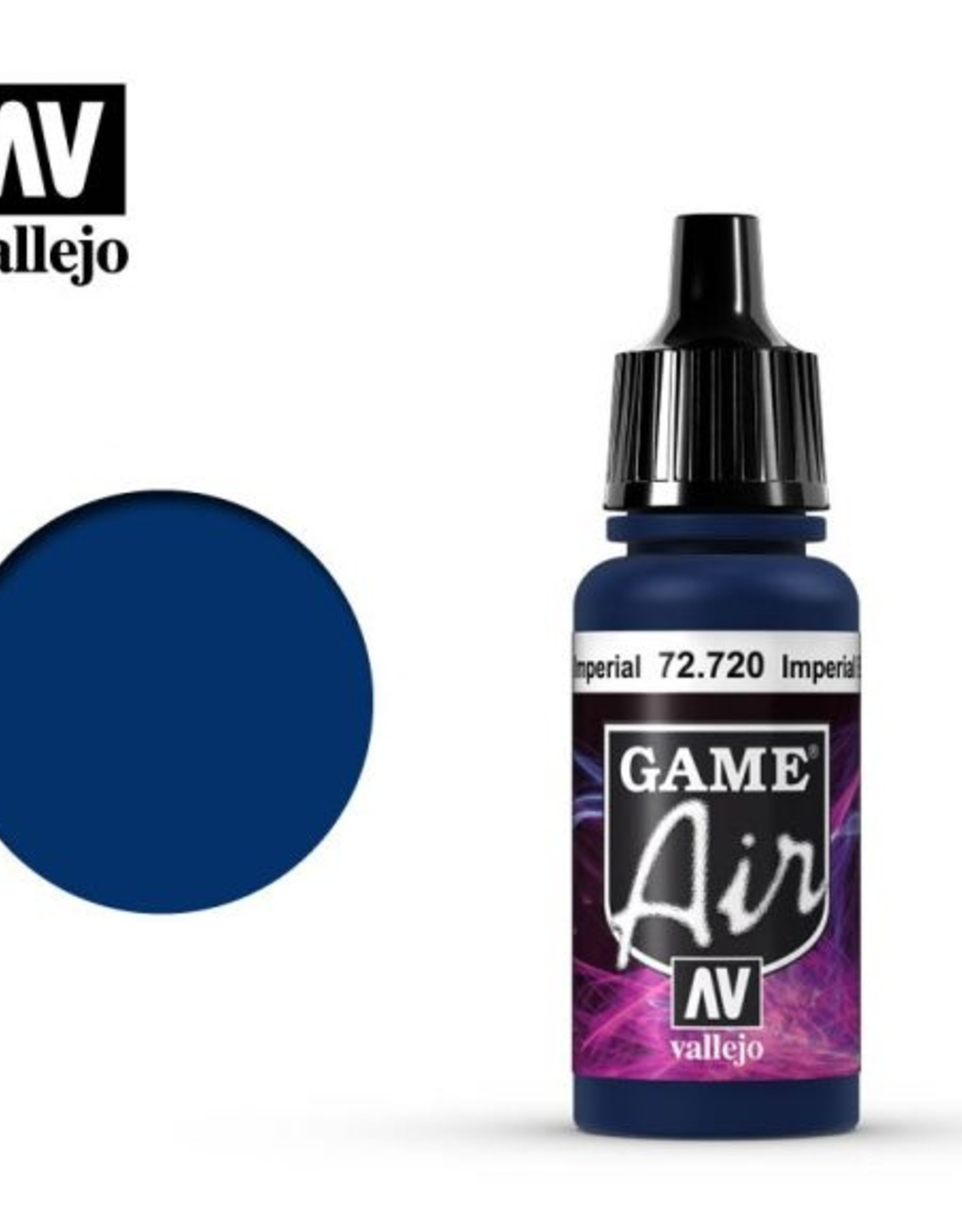 Vallejo Game Air:  72.720 Imperial Blue