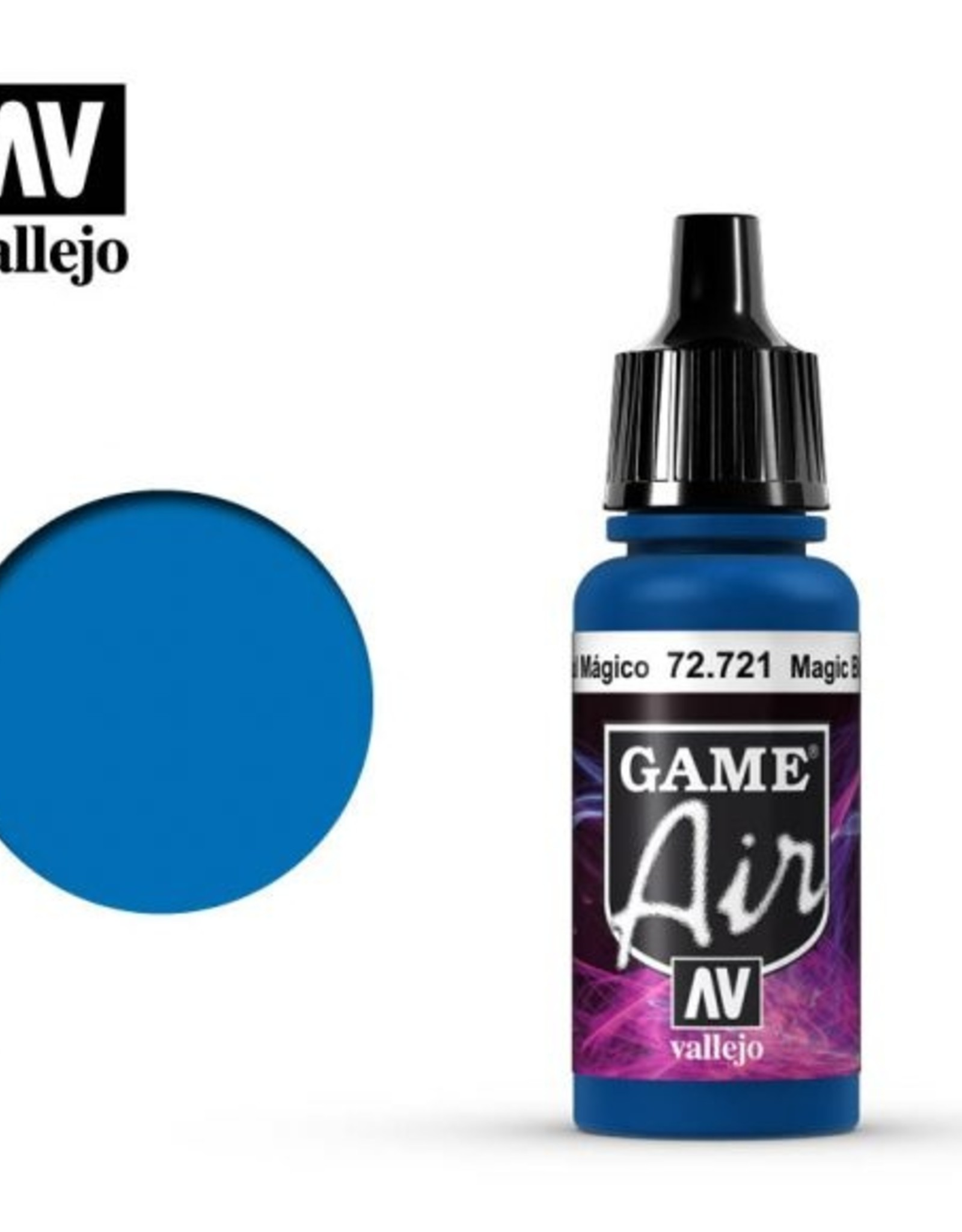 Vallejo Game Air:  72.721 Magic Blue