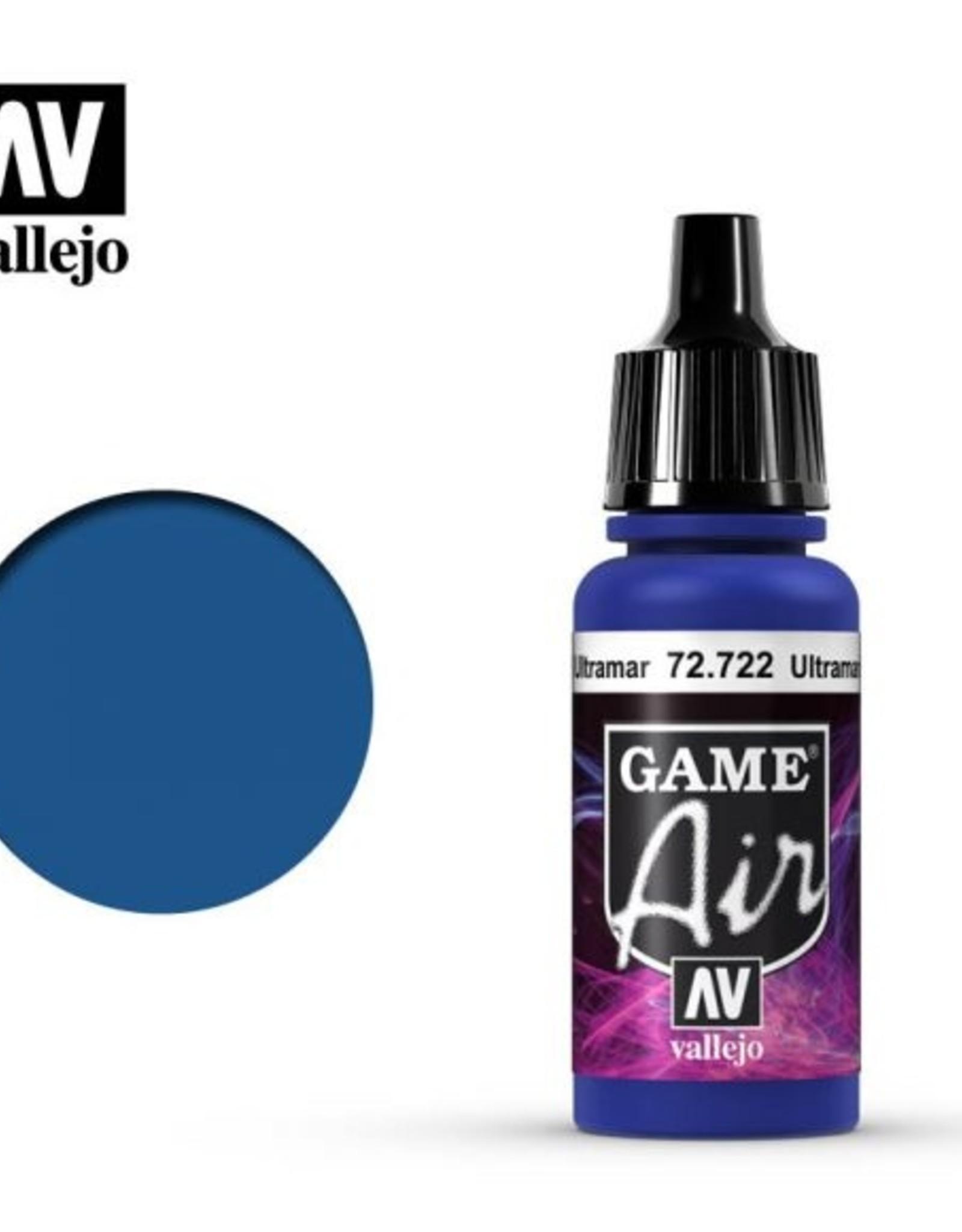 Vallejo Game Air: 72.722 Ultramarine Blue