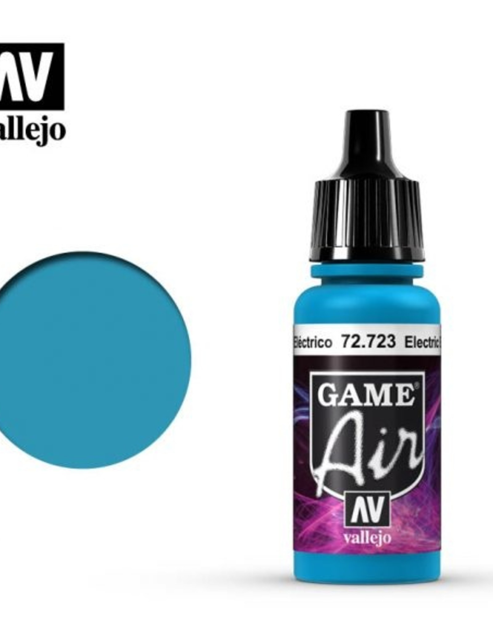 Vallejo Game Air:  72.723 Electric Blue