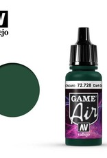Vallejo Game Air:  72.728 Dark Green
