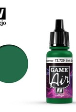 Vallejo Game Air:  72.729 Sick Green