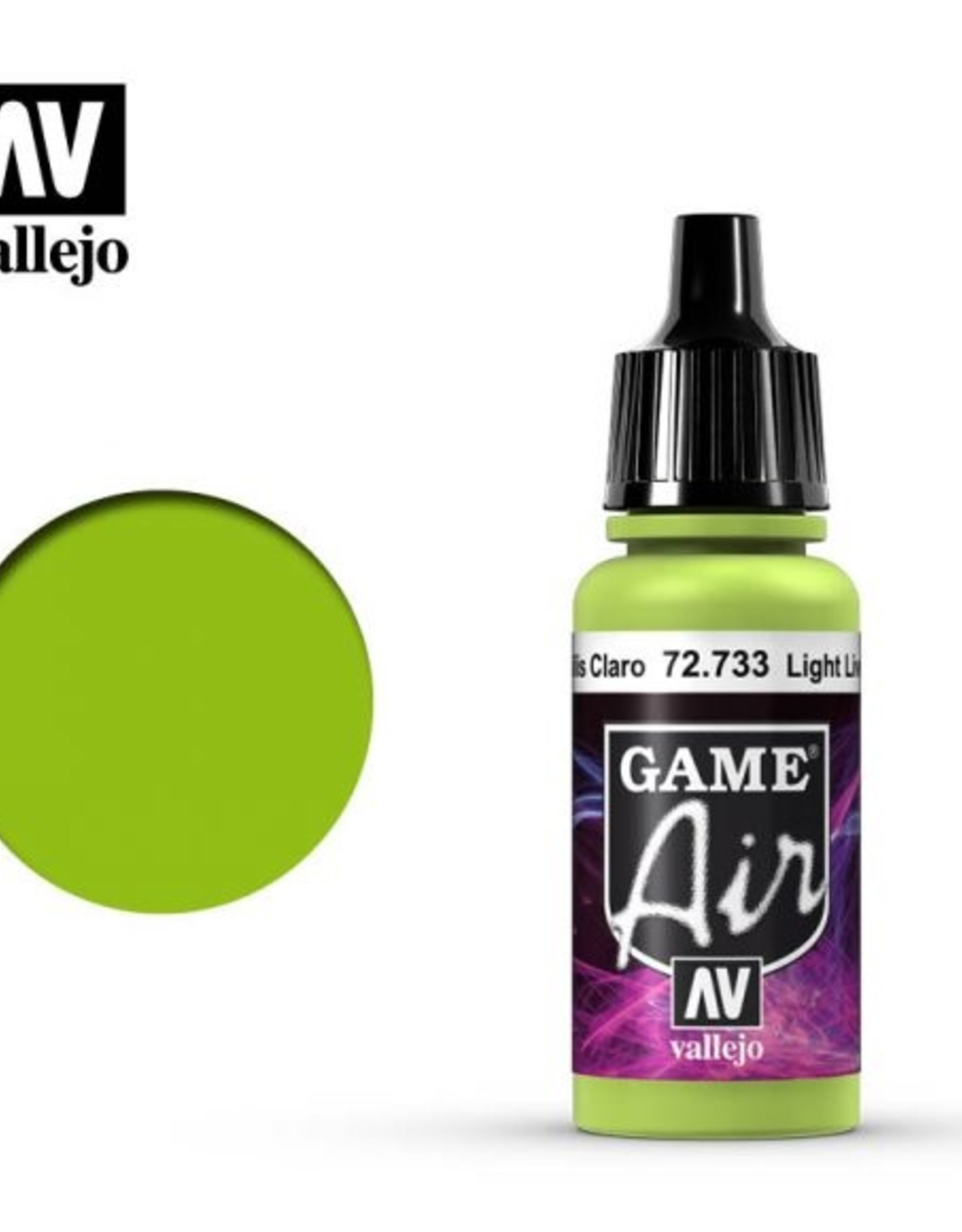Vallejo Game Air:  72.733 Light Livery Green