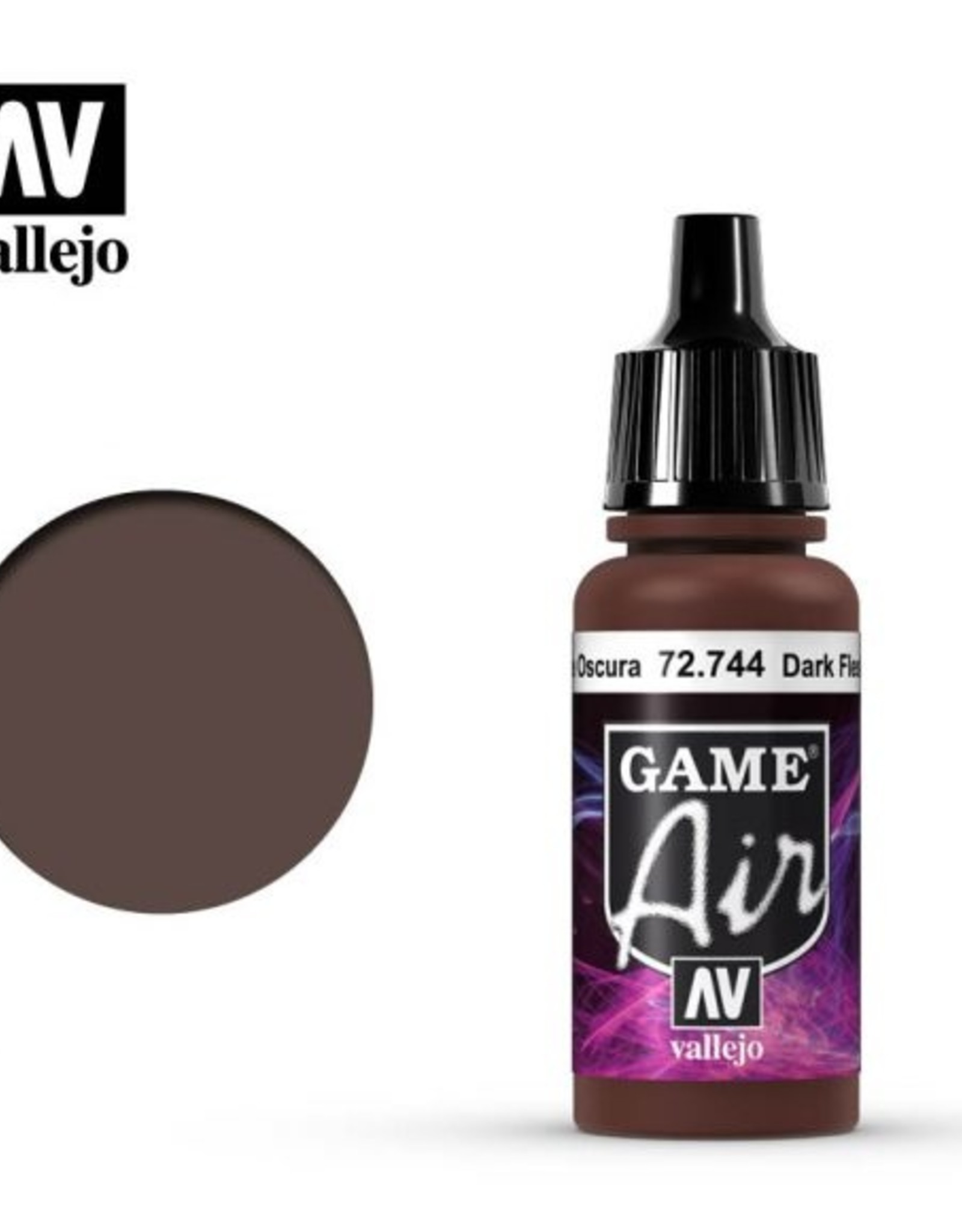 Vallejo Game Air: 72.744 Dark Fleshtone