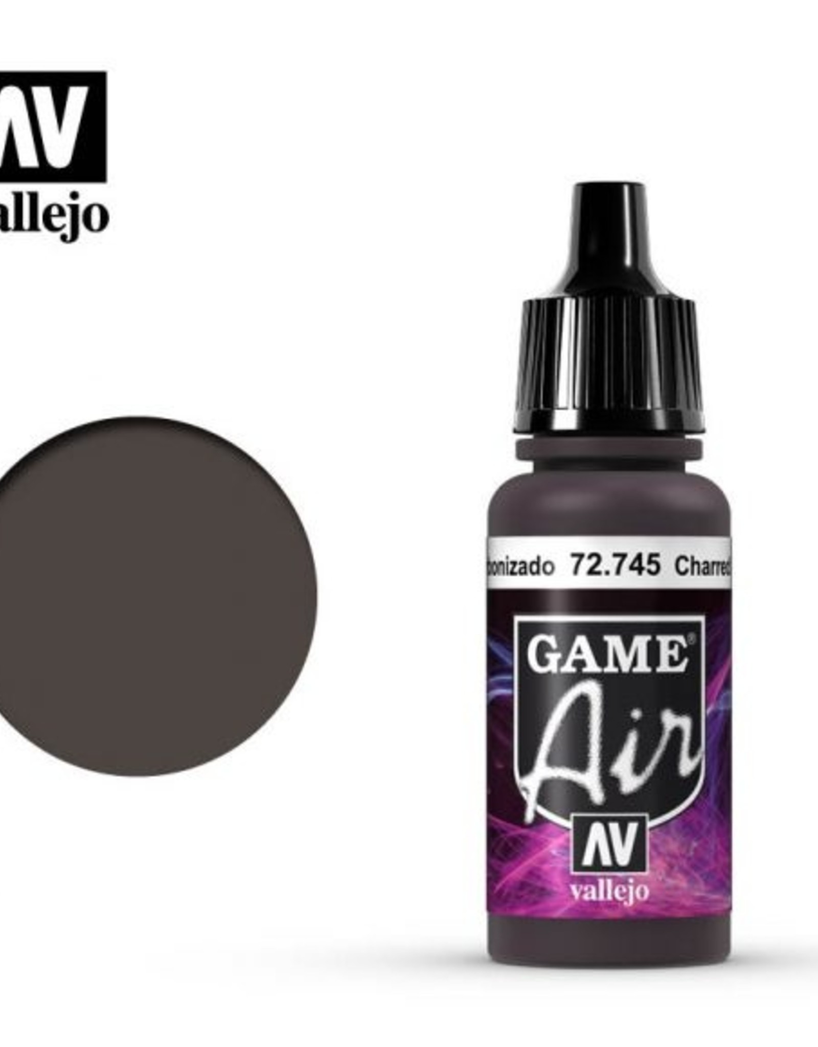 Vallejo Game Air:  72.745 Charred Brown