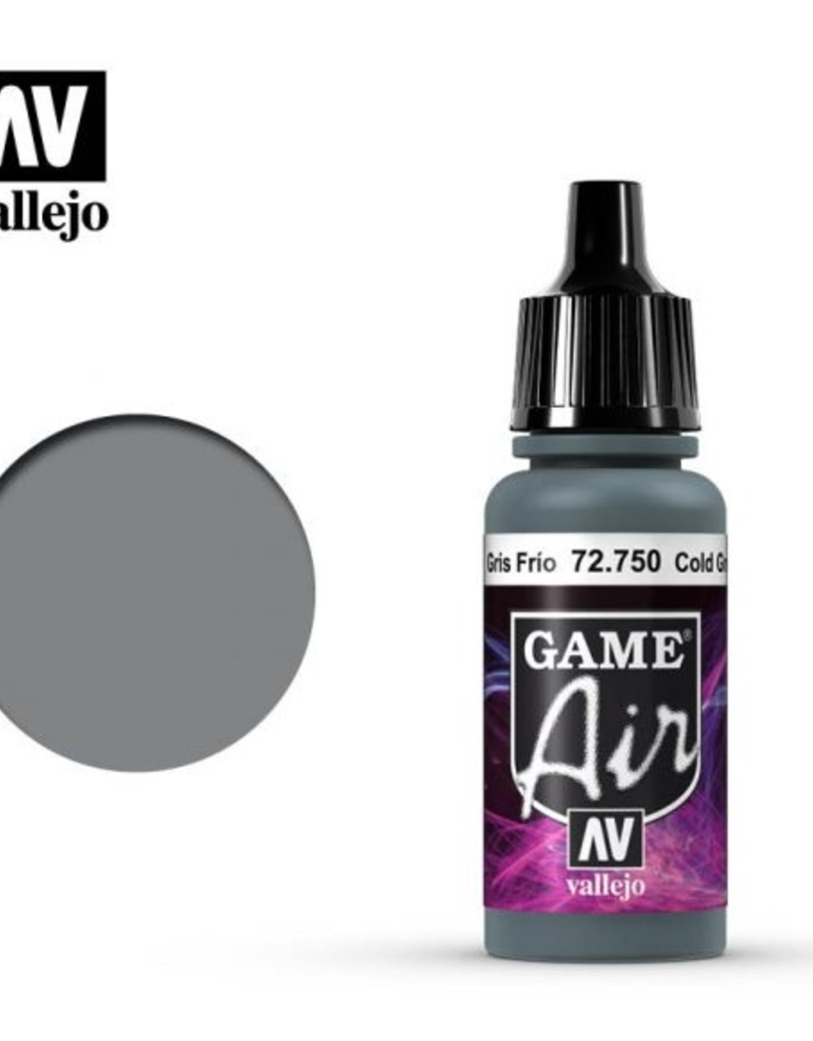 Vallejo Game Air:  72.750 Cold Grey
