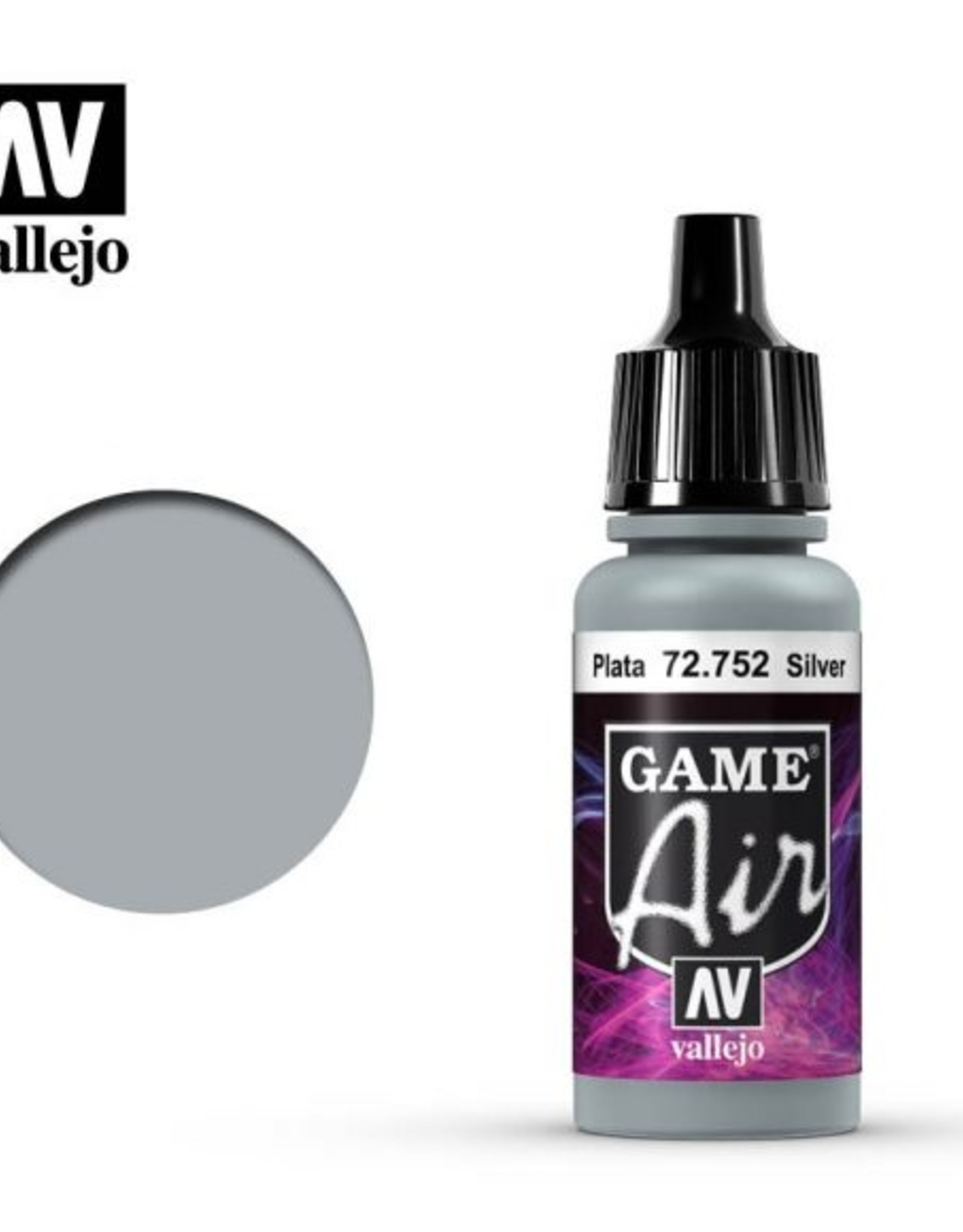 Vallejo Game Air:  72.752 Silver