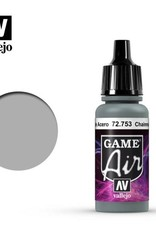 Vallejo Game Air:  72.753 Chainmail Silver