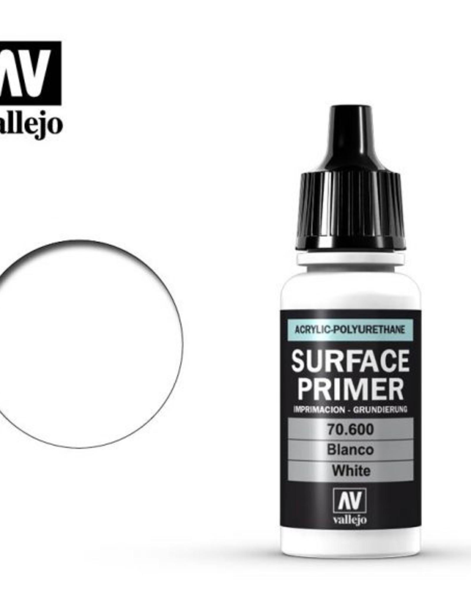 Vallejo Surface Primer:  70.600 White