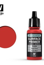 Vallejo Surface Primer:  70.624 Pure Red