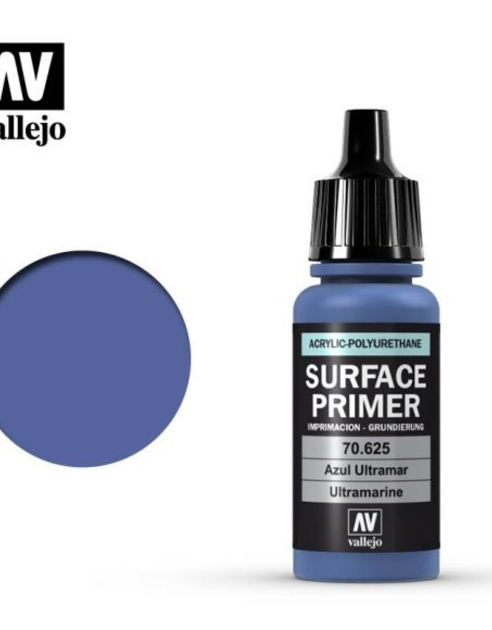 Vallejo Surface Primer:  70.625 Ultramarine