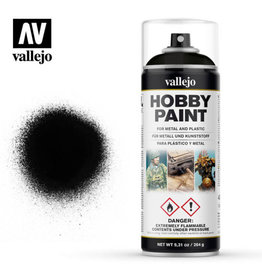 Vallejo Spray Primer -  28.012 Black (400ml)