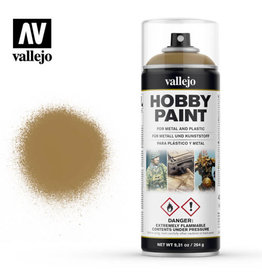Vallejo Spray Primer:  28.015 Desert Yellow (400ml)