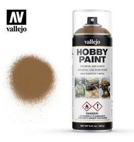 Vallejo Vallejo Spray Primer -  28.014 Leather Brown (400ml)