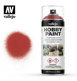 Vallejo Vallejo Spray Primer -  28.016 Scarlet Red (400ml)