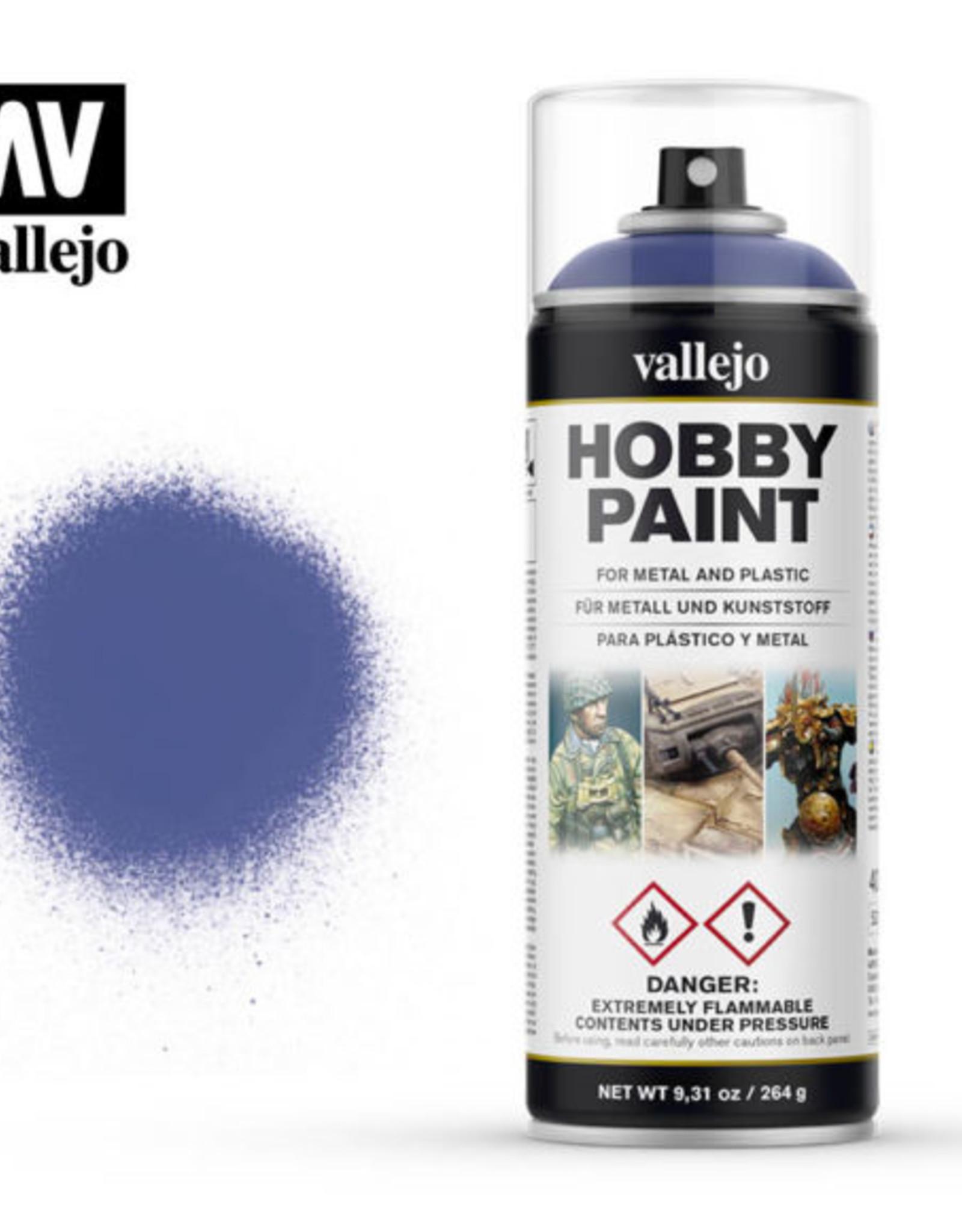Vallejo Spray Primer -  28.017 Ultramarine Blue (400ml)