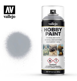 Vallejo Spray Primer:  28.021 Silver (400ml)