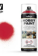 Vallejo Spray Primer -  28.023 Bloody Red (400ml)