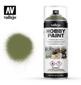 Vallejo Spray Primer -  28.027 Goblin Green (400ml)