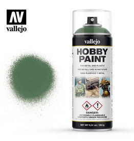 Vallejo Spray Primer:  28.028 Sick Green (400ml)