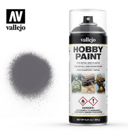 Vallejo Spray Primer -  28.031 Gunmetal (400ml)